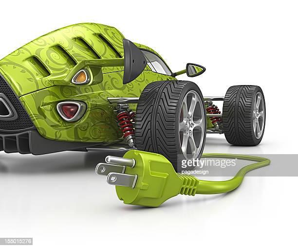 Öko-Rennwagen