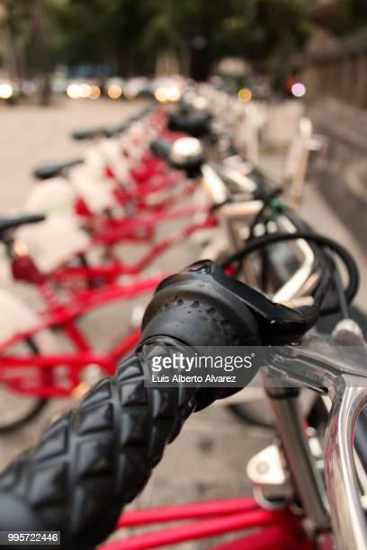 Ecobici bicycles / Bicicletas de Ecobici
