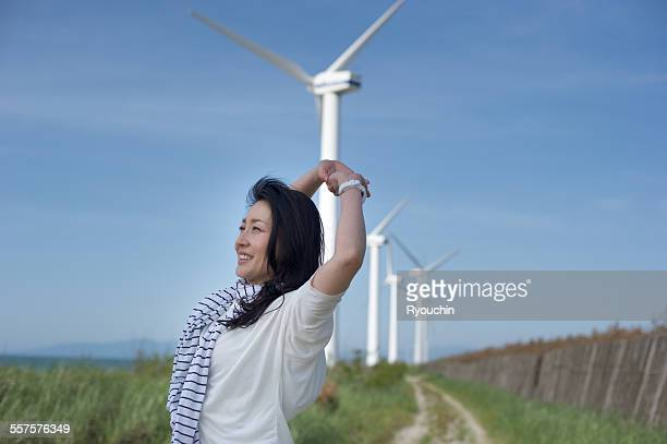 Eco-energy, Wind-power generation