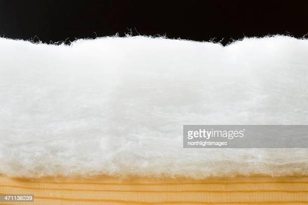 Eco-friendly loft insulation