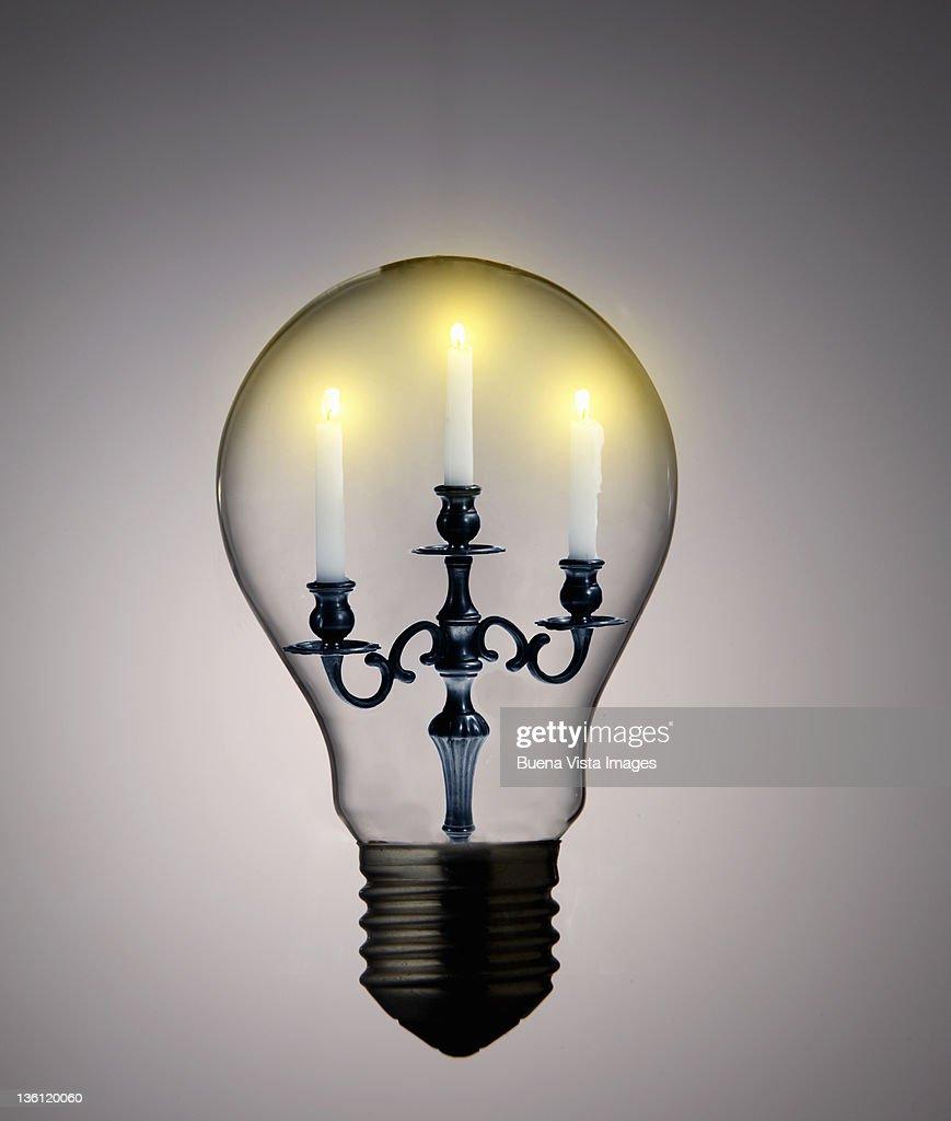 ecologic bulb : Bildbanksbilder