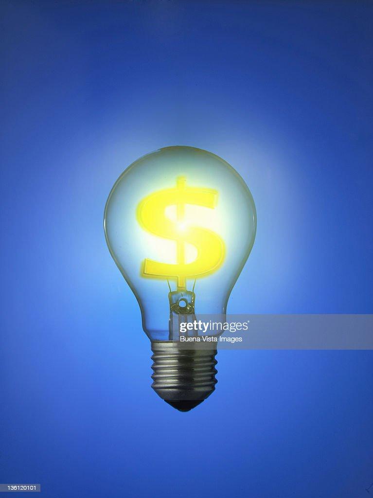 ecologic bulb : Foto de stock