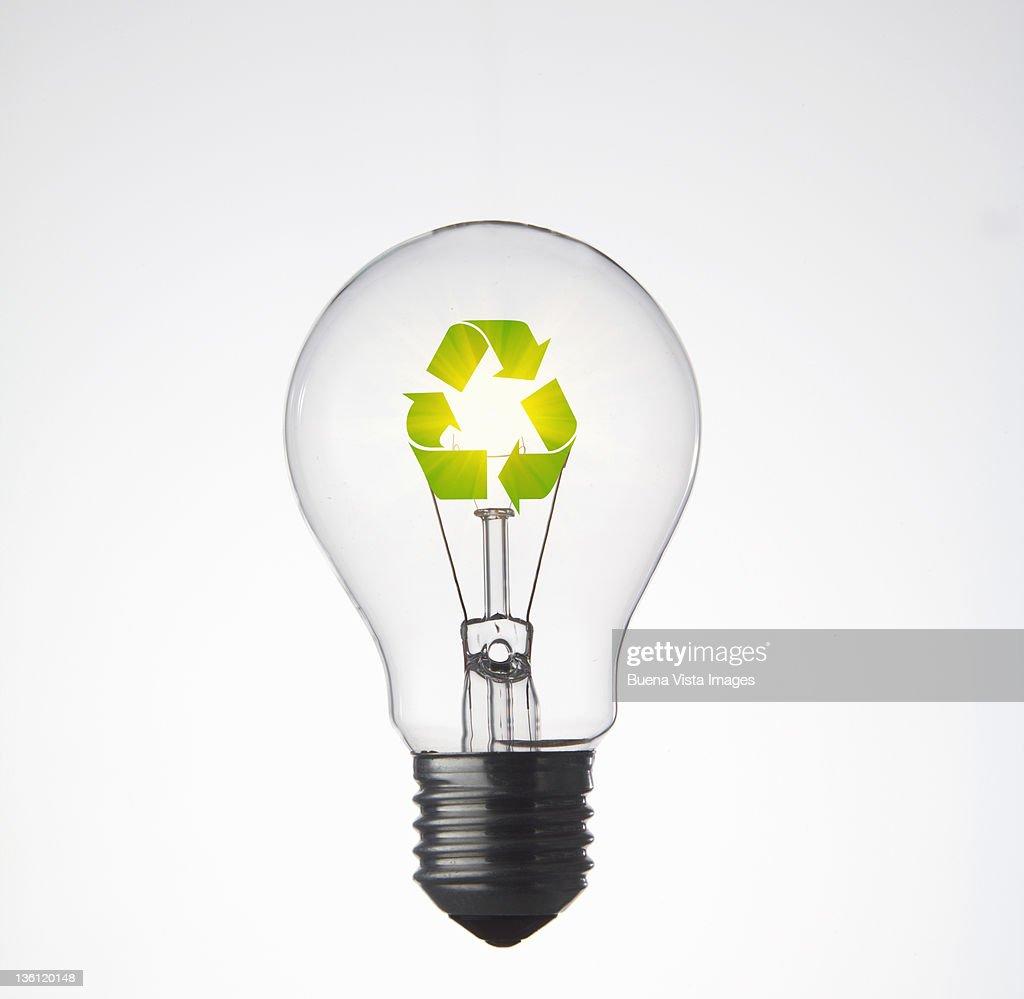ecologic bulb : Stock Photo