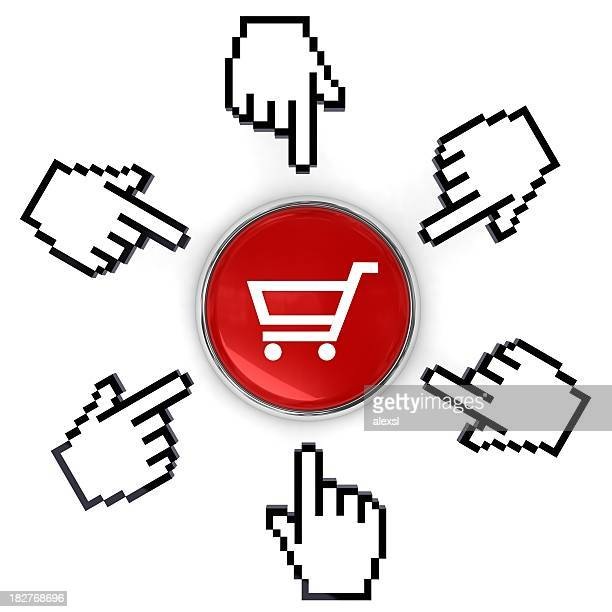 e-commerce - cursor stock pictures, royalty-free photos & images