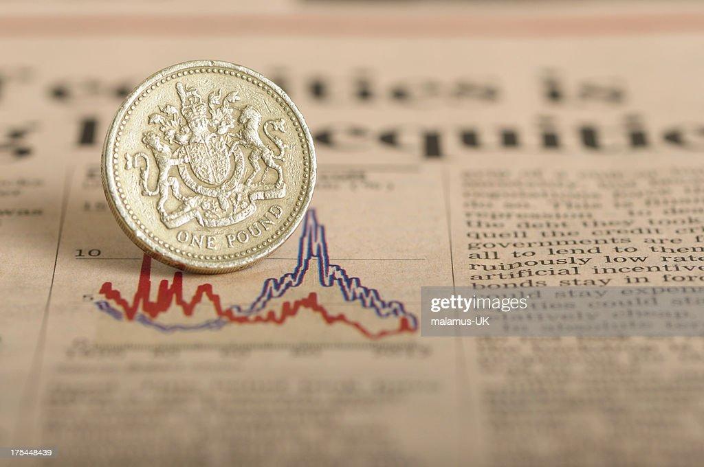 Economic down turn : Stock Photo