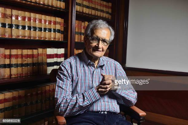 Economist Amartya Sen photographed on February 22 2017 in New Delhi India