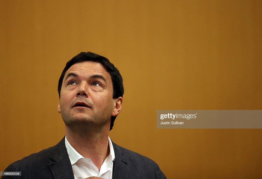 Best Selling Economist Author Thomas Piketty Speaks At UC Berkeley : News Photo