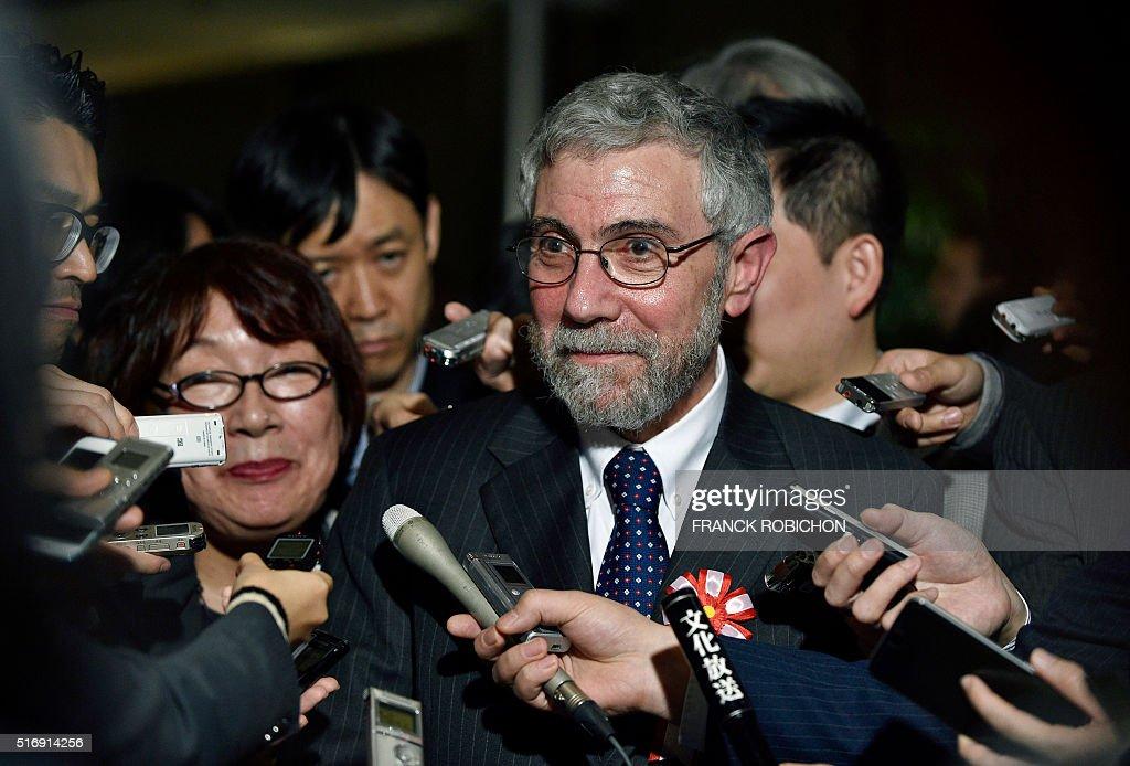 JAPAN-US-ECONOMY-NOBEL : News Photo