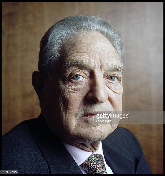 Economist and philanthrophist George Soros, founder of The Open Society, pose at aportrait session in New York City.
