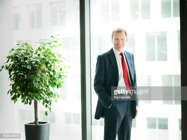Economist and senior civil servant Gus O'Donnell is photographed on March 20 2013 in London England