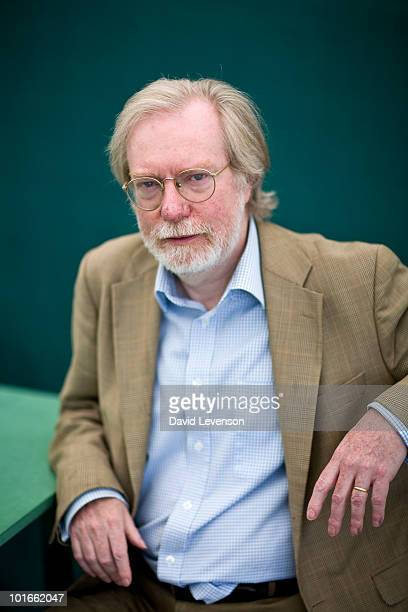 Economist and writer Paul Collier poses for a portrait at The Hay Festival on June 6 2010 in HayonWye Wales