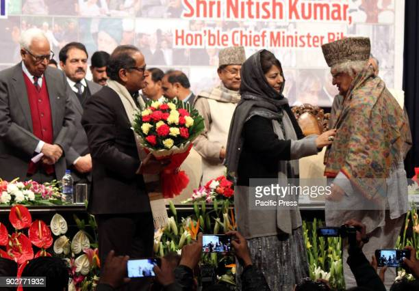 Economist Author and British Indian politician Lord Meghnad Desai and Bihar Chief Minister Nitish Kumar visits and delivers first Mufti Muhammad...