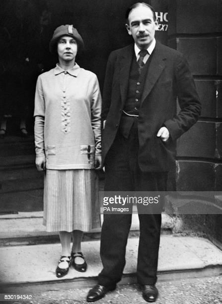 Economist John Maynard Keynes and his wife Russian ballerina Lydia Lopokova