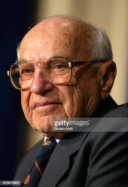 Economist Milton Friedman at a ceremony at the Eisenhower Executive Office Building. President Bush honored Dr. Friedman on his upcoming 90th...