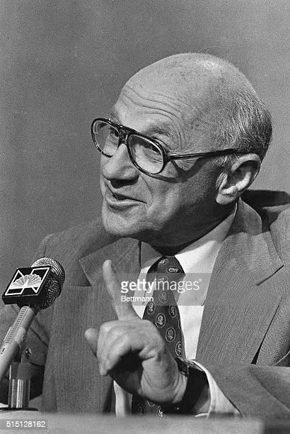 Economist Milton Friedman, comparing Congress to spendthrift kids whose allowance is cut, said that President Reagan has blocked lawmakers from...