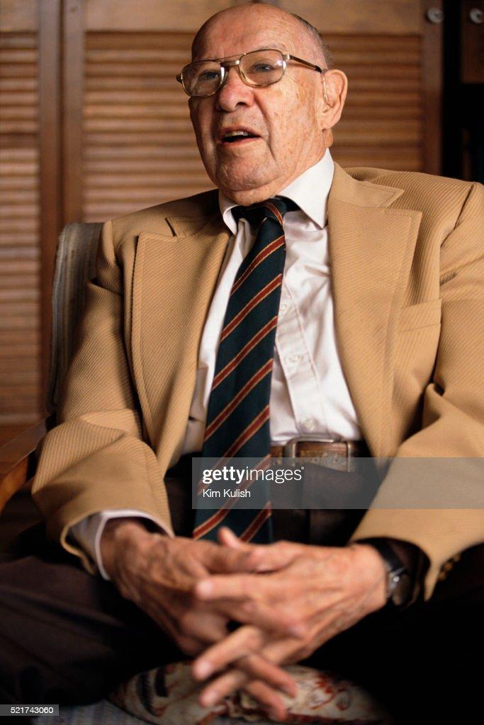 Economist Peter Drucker : Stock Photo