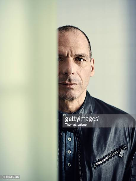 Economist Yanis Varoufakis is photographed for Self Assignment on April 16 2016 in Paris France
