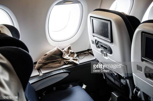 economy class - vehicle seat stock pictures, royalty-free photos & images