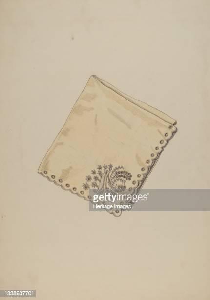 Economy Handkerchief, circa 1938. Artist Katherine Hastings.