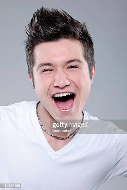 ecstatic teenager