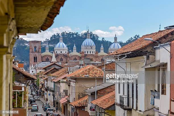Ecuador. Cuenca city. Street.