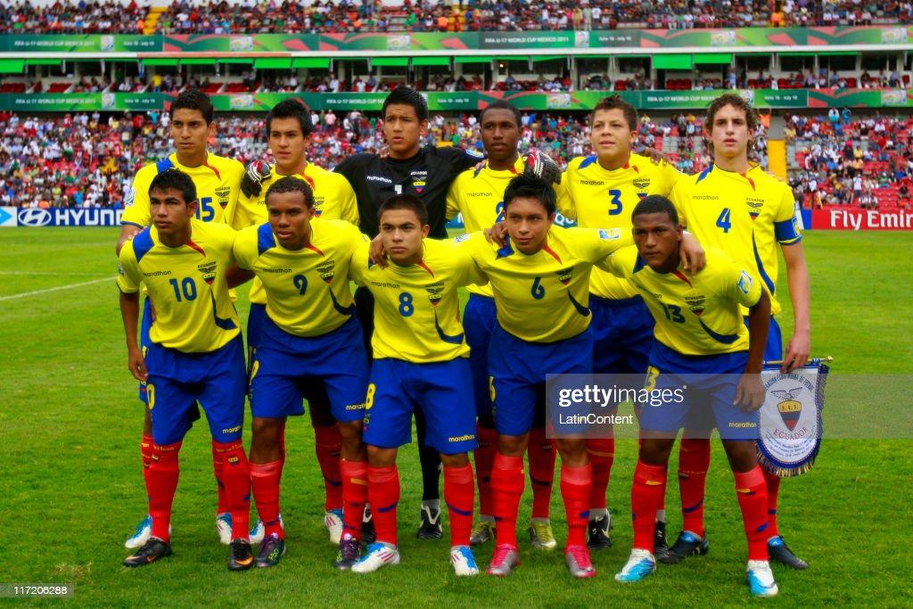 e49f41b64 Ecuador national soccer team U-17 during the FIFA U-17 World Cup ...