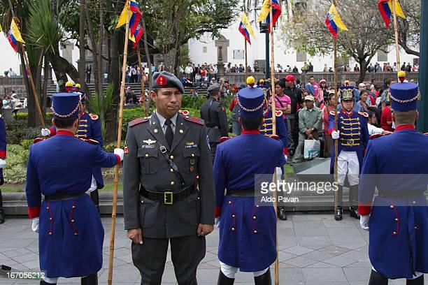 Ecuador, Quito, Plaza de la Independencia