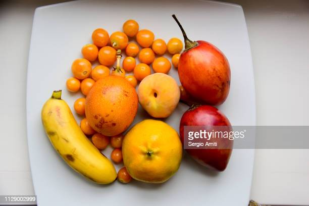 Ecuadorean fruits plate