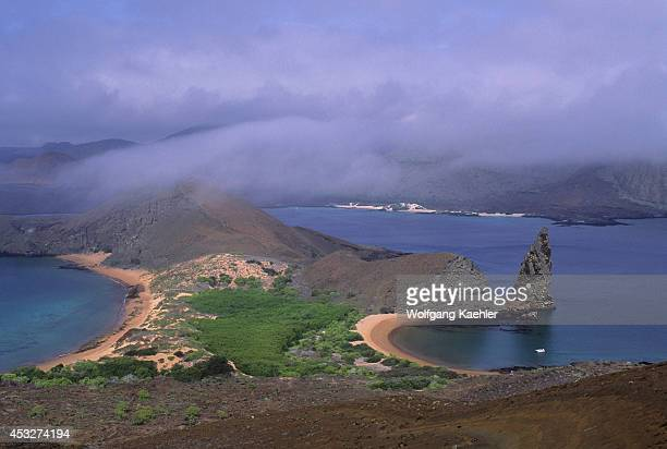 Ecuadorgalapagos Islands Bartolome Island View Of Pinnacle Rock