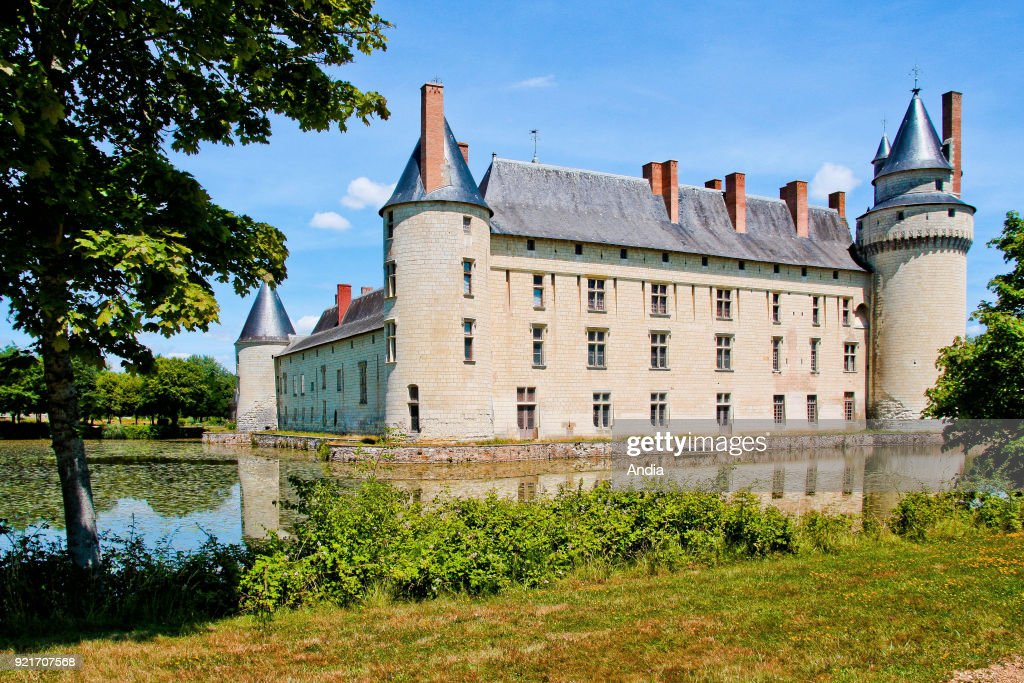 Chateau du Plessis-Bourre, castle of the Loire Valley registered as a National Historic Landmark (French 'Monument Historique').