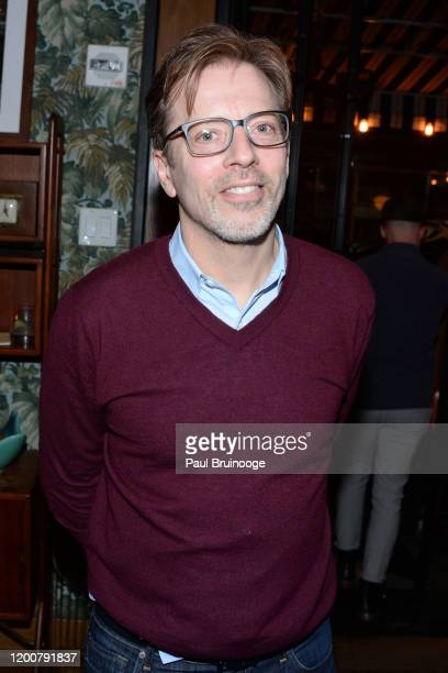 Ed Arentz attends MAC Nordstrom And The CFDA Host The After Party For The Times Of Bill Cunningham at Bistrot Leo on February 13 2020 in New York City