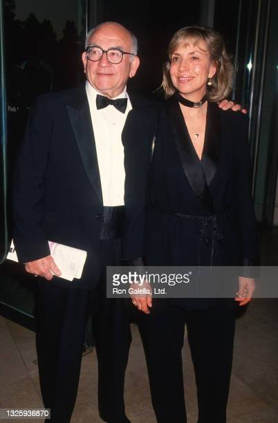 Ed Asner and Cindy Gilmore attend 46th Annual Writers Guild of America Awards at the Beverly Hilton Hotel in Beverly Hills, California on March 13,...