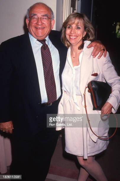 Ed Asner and Cindy Gilmore attend Sixth Annual IFP-West Independent Spirit Awards at the Beverly Hills Hotel in Beverly Hills, California on March...