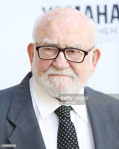 Ed Asner arrives at the Heifer International's 3rd Annual Beyond Hunger Gala held at Montage Beverly Hills on August 22 2014 in Beverly Hills...