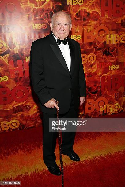 Ed Asner attends HBO's Official 2015 Emmy After Party at The Plaza at the Pacific Design Center on September 20 2015 in Los Angeles California