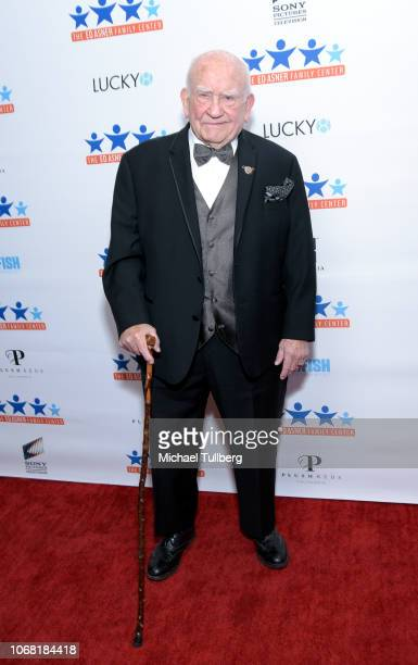 Ed Asner attends the Ed Asner Family Center's first annual A Night of Dreams gala at Exchange LA on November 15 2018 in Los Angeles California