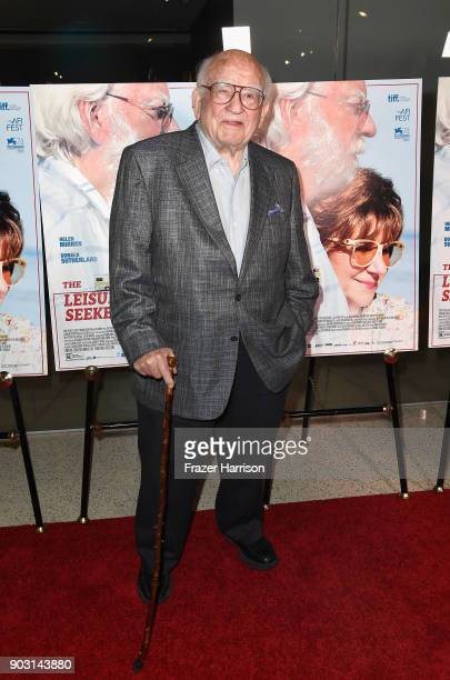 Ed Asner attends the premiere of Sony Pictures Classics' 'The Leisure Seeker' at Pacific Design Center on January 9 2018 in West Hollywood California