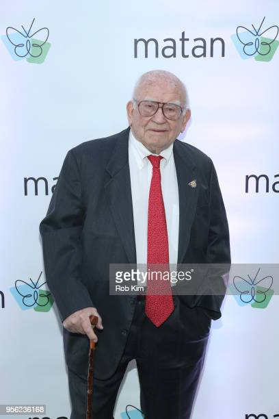 Ed Asner attends to be honored by the Jewish Inclusion Organization Matan at Chelsea Piers Sunset Terrace on May 8, 2018 in New York City.