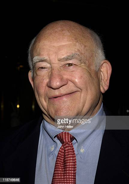 Ed Asner during Betty White Celebrity Roast a Fundraiser for Animal Welfare Presented by Actors And Others For Animals at Universal City Hilton...
