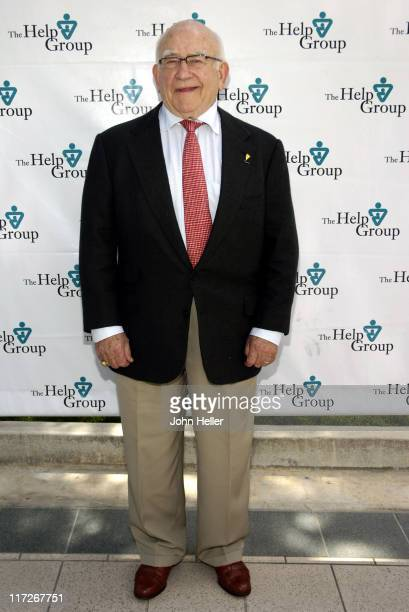 Ed Asner during The HELP Group Autism Awareness Event Honoring Celebrity Fathers State Political Leaders and Corporate Partners in Los Angeles...