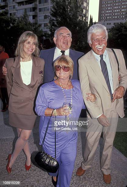 Ed Asner with guest Michelle Triola and Dick Van Dyke
