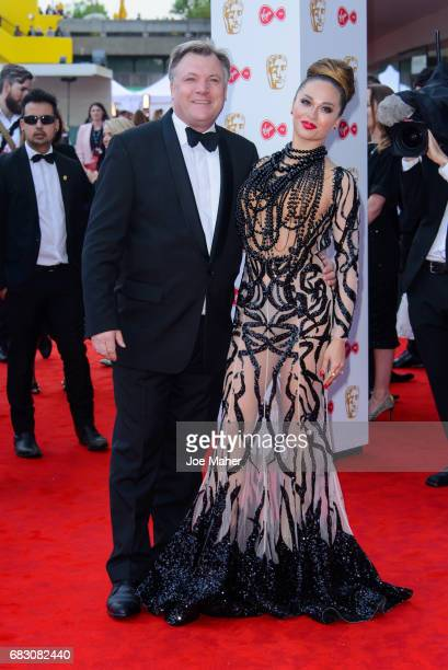 Ed Balls and Katya Jones attend the Virgin TV BAFTA Television Awards at The Royal Festival Hall on May 14 2017 in London England