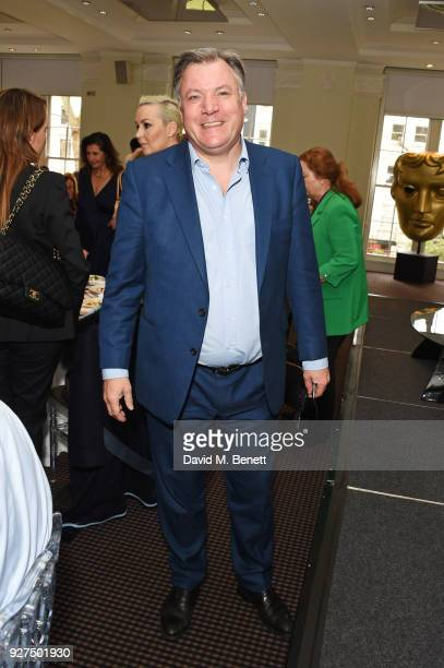 Ed Balls attends Turn The Tables 2018 hosted by Tania Bryer and James Landale in aid of Cancer Research UK at BAFTA on March 5 2018 in London England