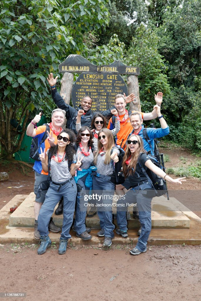 'Kilimanjaro: The Return' for Red Nose Day : News Photo