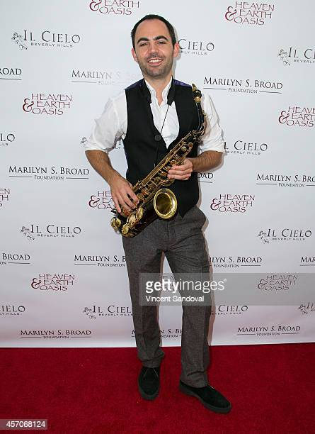 Ed Barker attends the Heaven and Earth Oasis Charity fundraiser at Il Cielo on October 11 2014 in Beverly Hills California