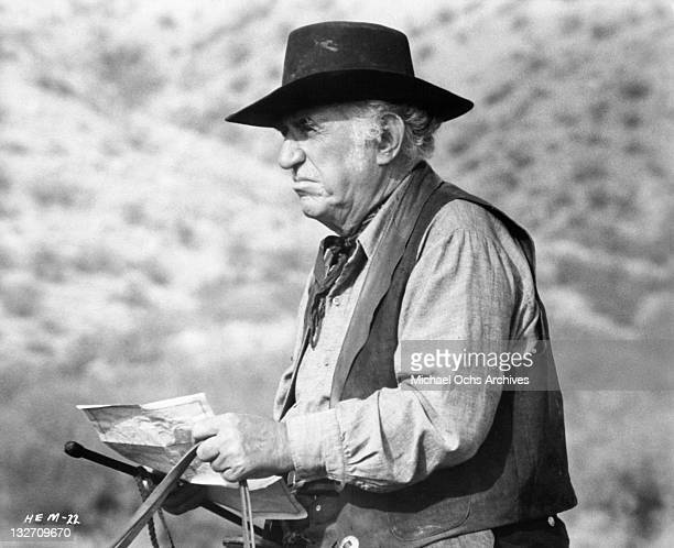 Ed Begley in a scene from the film 'Hang 'Em High' 1968