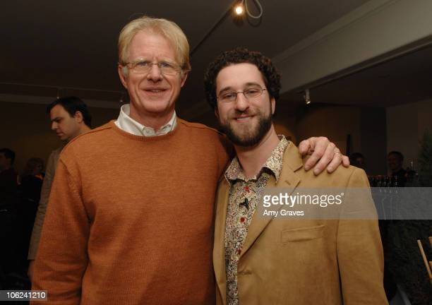 Ed Begley Jr and Dustin Diamond during 2007 Park City Project Greenhouse Presented by Lexus Hybrid Living Day 3 at Project Greenhouse in Park City...