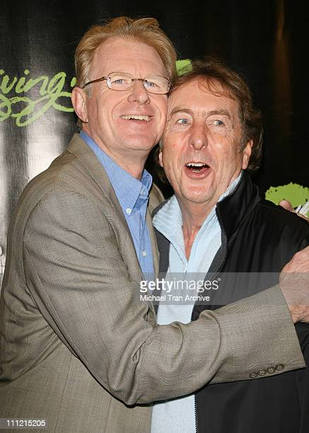 Ed Begley Jr and Eric Idle during HGTV's Living with Ed Special Screening Arrivals at Laemmel Sunset 5 Cinemas in West Hollywood California United...