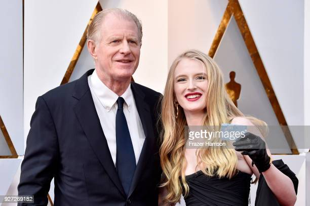 Ed Begley Jr and Hayden Begley attend the 90th Annual Academy Awards at Hollywood Highland Center on March 4 2018 in Hollywood California