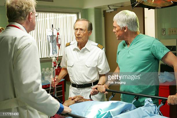 Ed Begley Jr Bernie Kopell and Chad Everett during 2006 TV Land Awards Spoof of Grey's Anatomy at Robert Kennedy Medical Center in Los Angeles...
